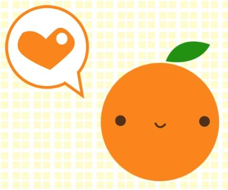 orange love
